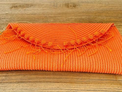 tasje /clutch oranje