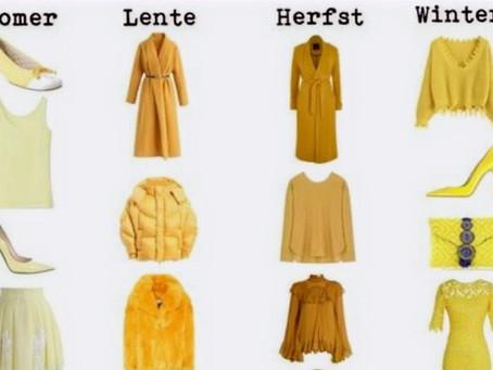 Welke kleur geel kan ik dragen?