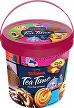 Tatawa Tea Time Assorted Cookes 3D_Dark