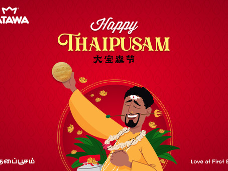 Tatawa wishes all Hindus a Happy Thaipusam. Be well, celebrate with joy.