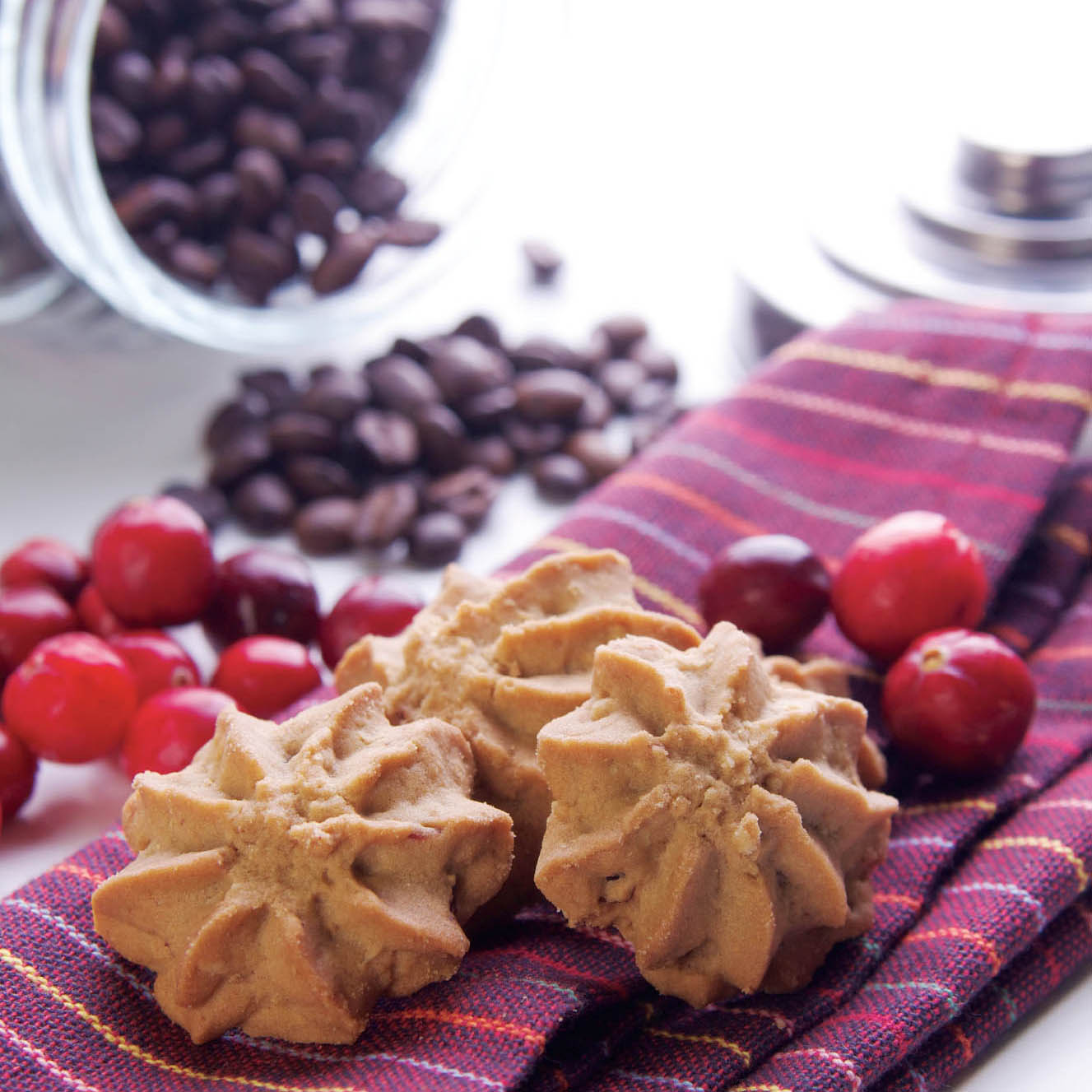 港式蔓越莓咖啡酥饼HK Cranberry Coffee Cookies