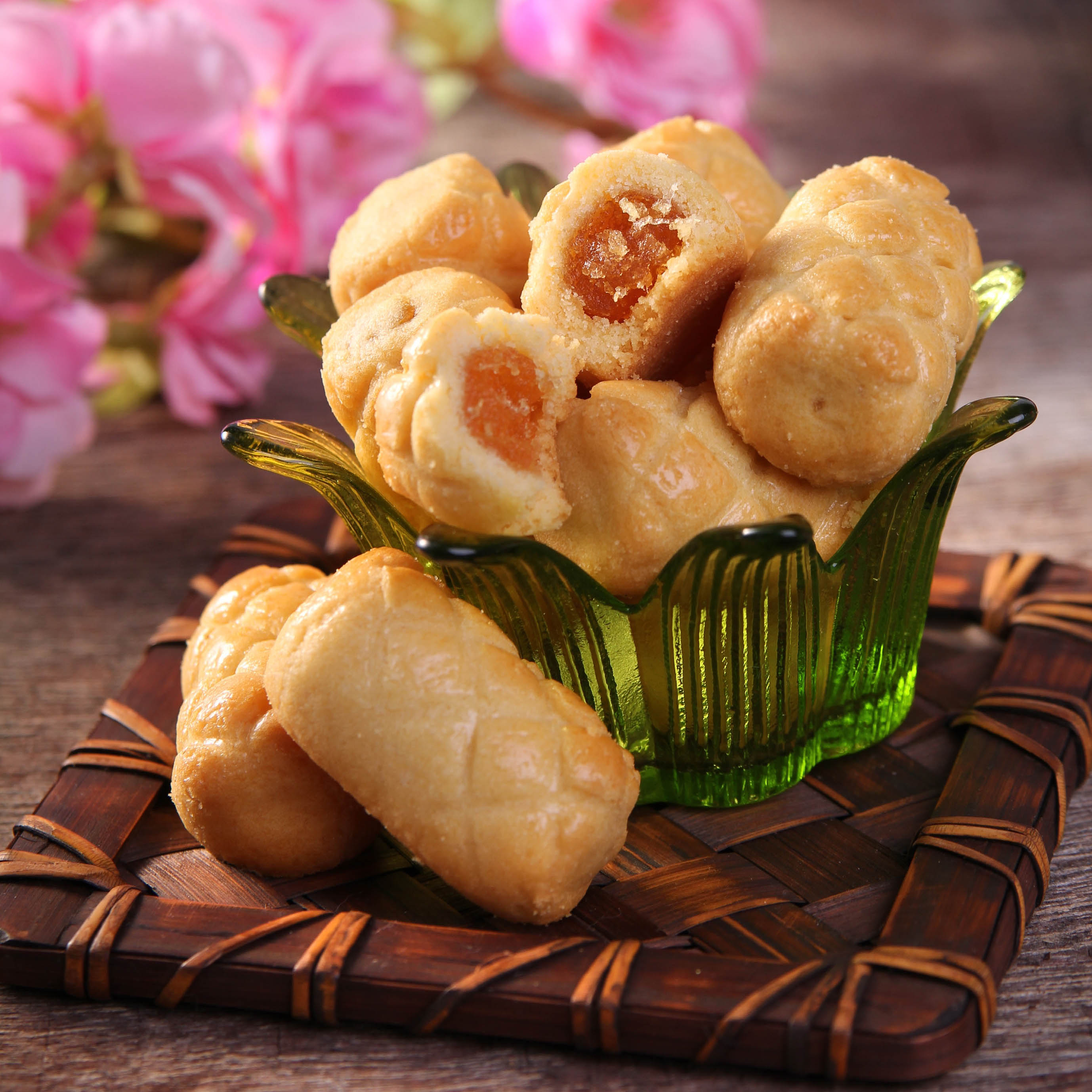 凤梨酥Carnival Pineapple Cookies