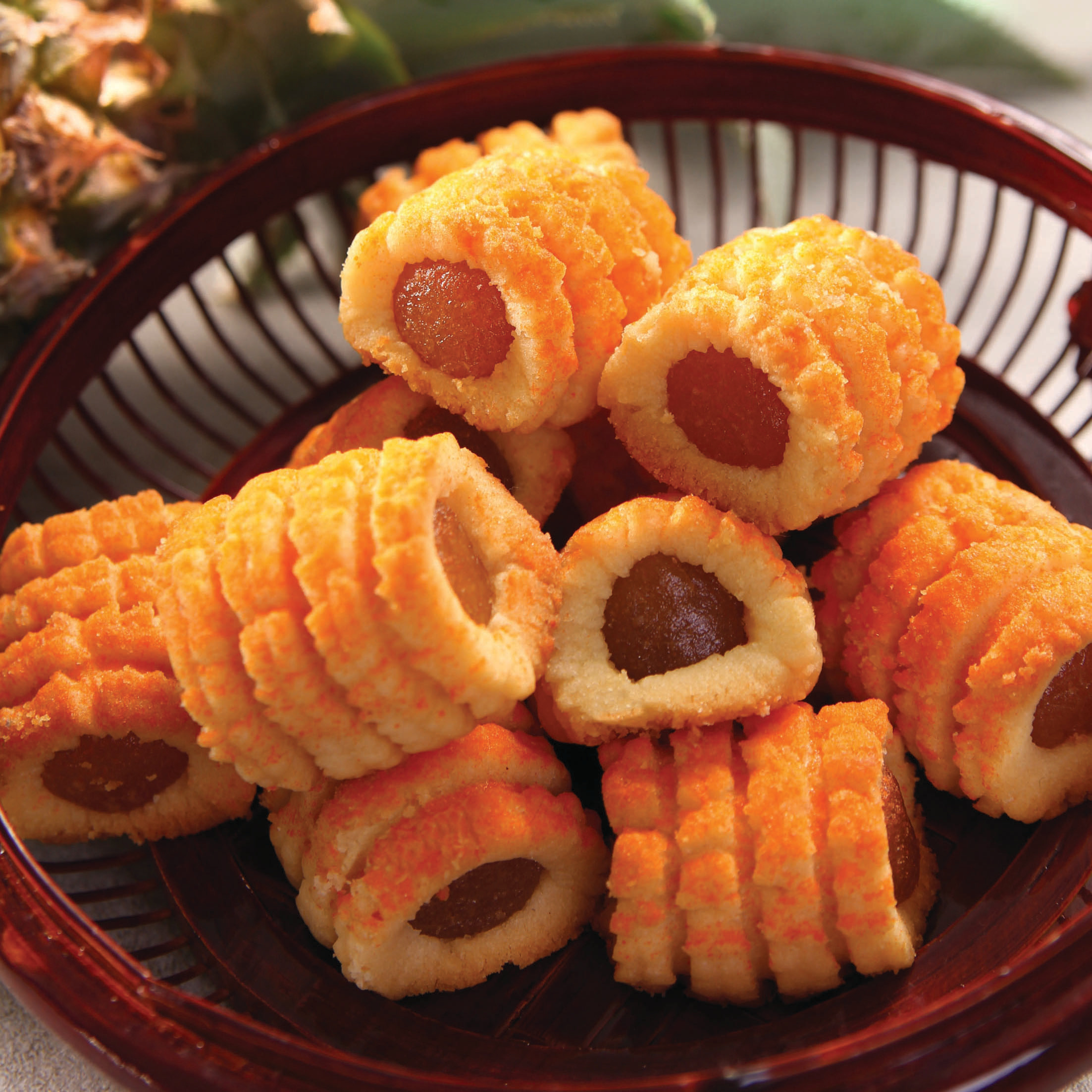 芝士凤梨酥Cheese Pineapple Cookies