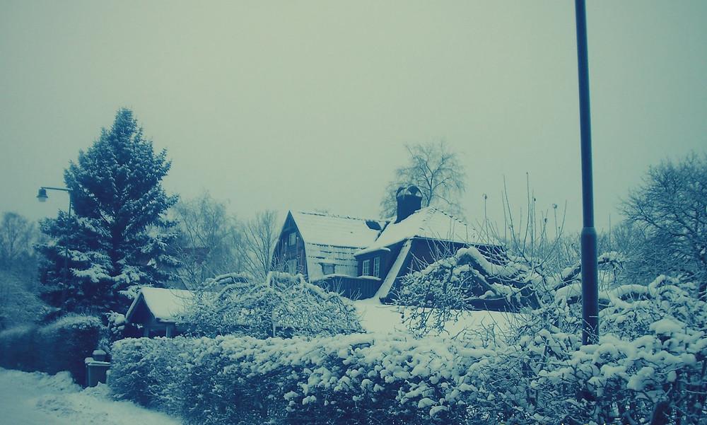 Neve em Estocolmo