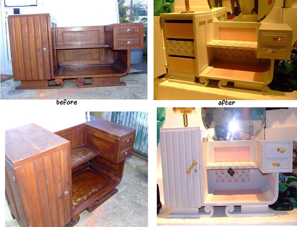 Reciclagem, antes e depois