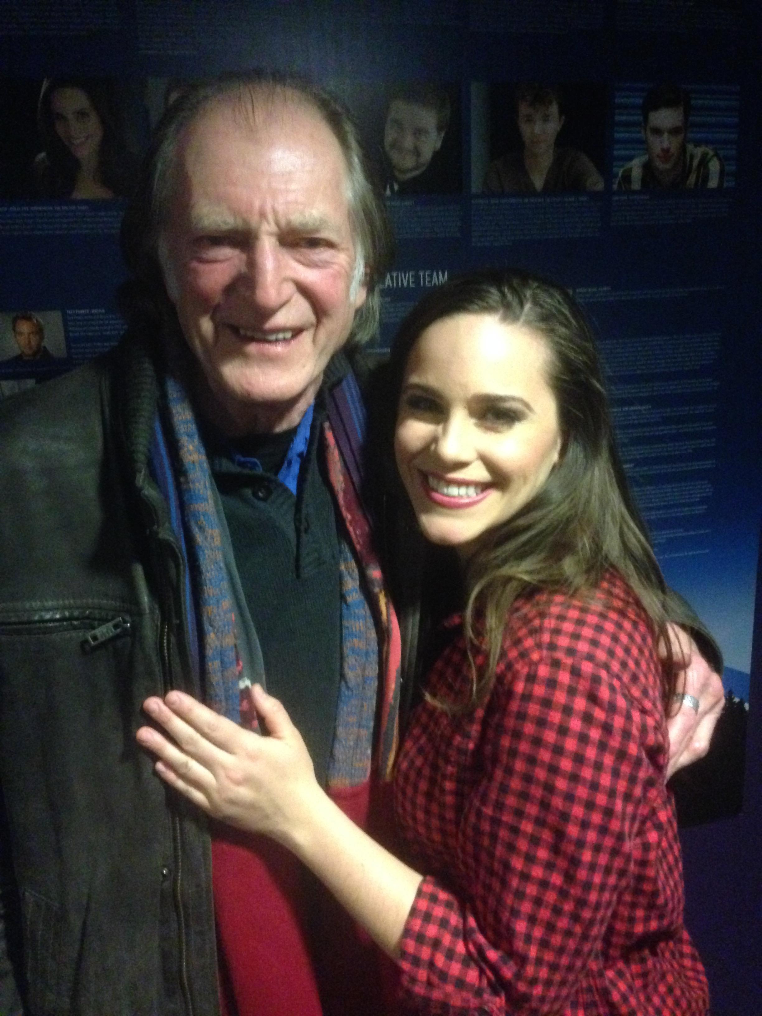 Elicia with David Bradley