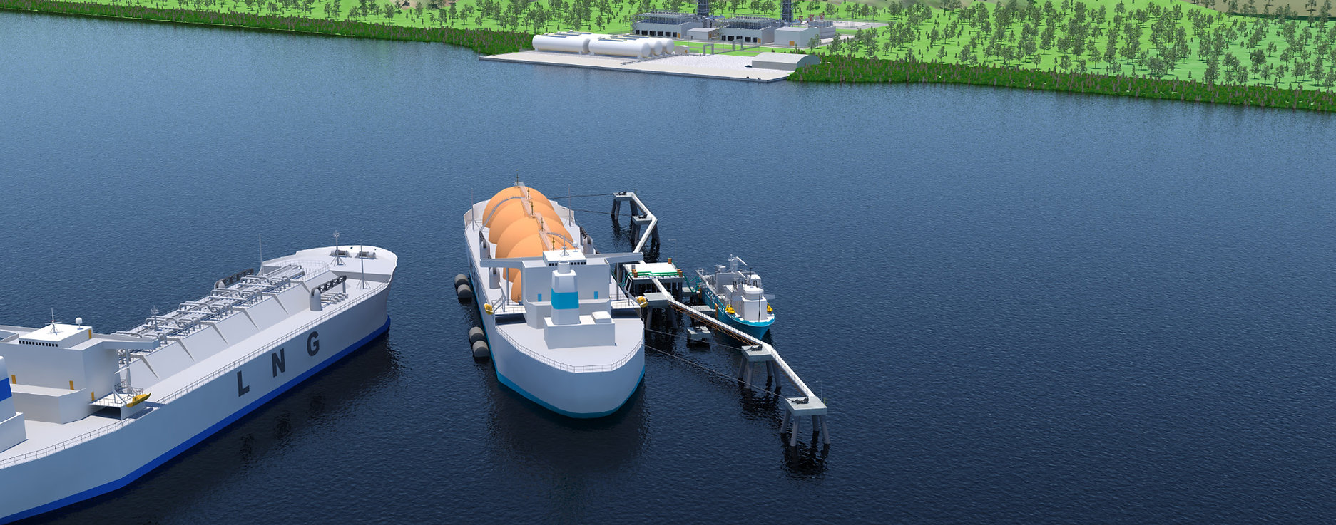 Dreifa Floating LNG Import Terminal - Gas to Power