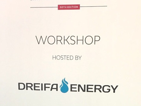 """Dreifa Energy holds workshop at Gastech – """"LNG import projects in new markets - the opportunities an"""