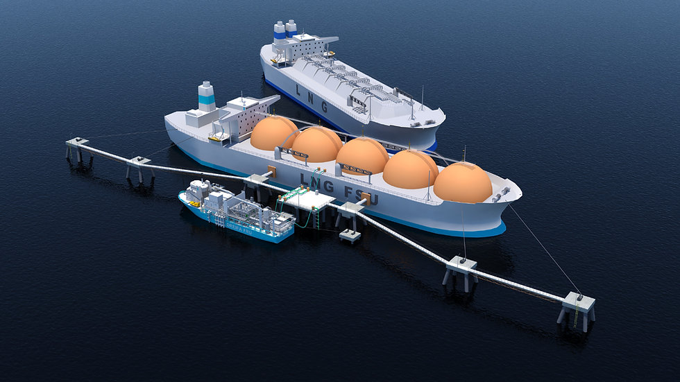 Dreifa Energy's Floating LNG Import Terminal