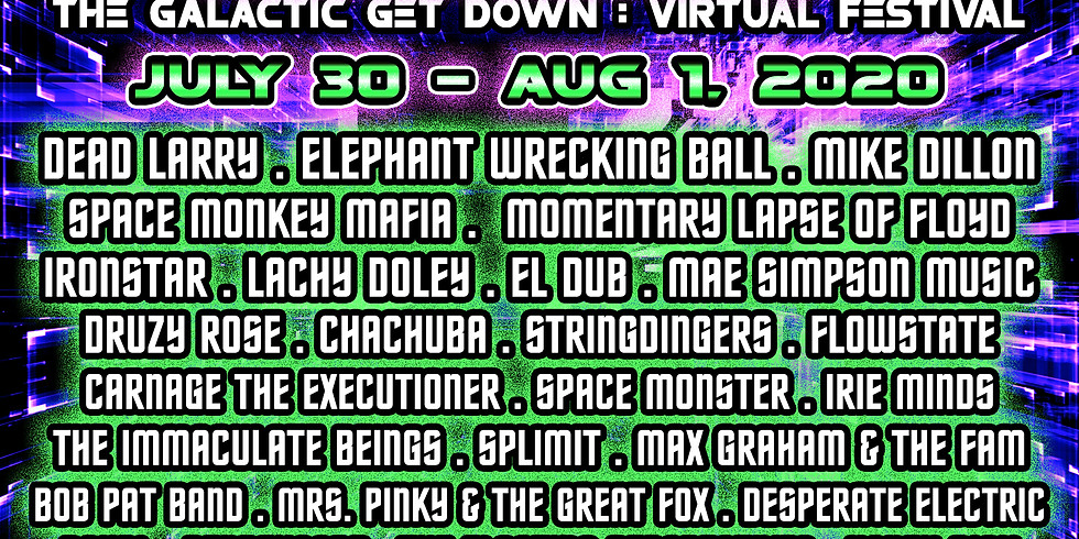 The Floating Perspectives at Galatic Getdown 2020 (Virtual Festival)