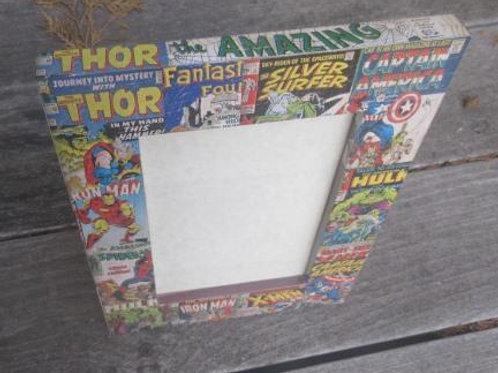 Marvel Superhero Decoupage Frame