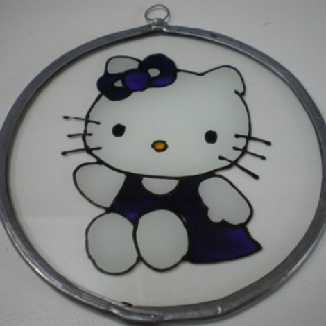 Hello Kitty - Sitting down - Suncatcher - Small