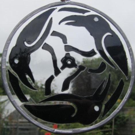 Suncatcher - Ravens Triskele - Large
