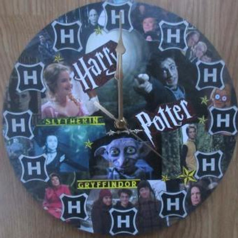 Harry Potter - Wall Clock made with Danilo merchandise