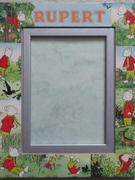 Rupert Bear Annual 1958 - Rupert and the Spring Adventure - Decoupage Frame