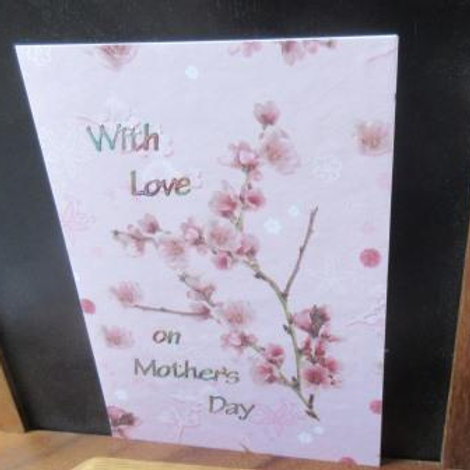 Mother's Day Card - Cherry Blossom