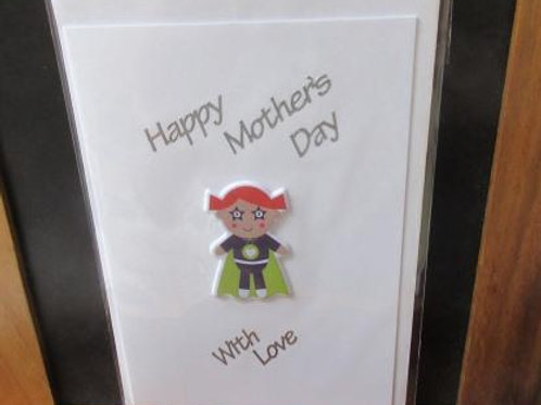 Mother's Day Card - Super Mum