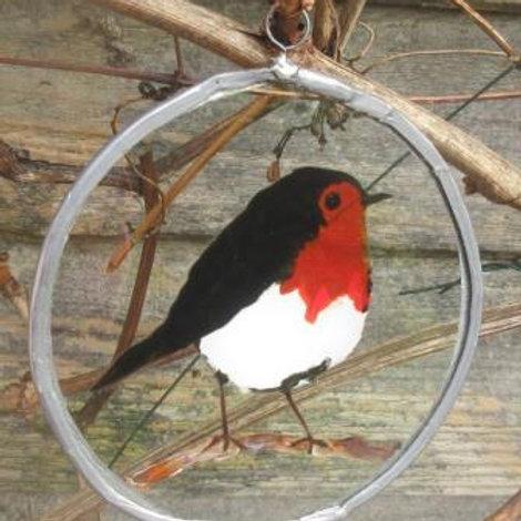 Suncatcher - Robin on branch