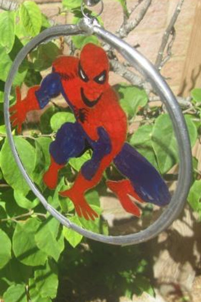 Spiderman hand in front - Suncatcher - Small
