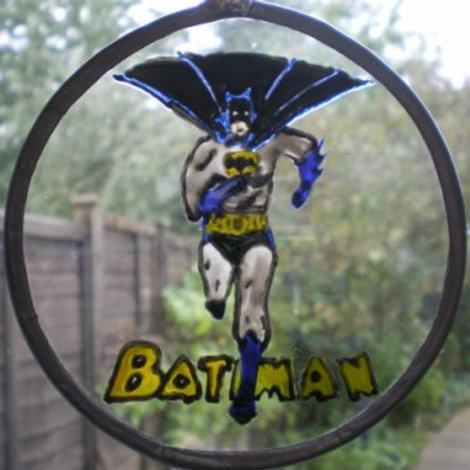 Batman running - Suncatcher - Small