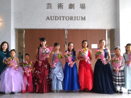 入賞者記念コンサート ご出演おめでとうございます!