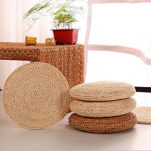 Handwoven Meditation Cushion (Made of Plants)