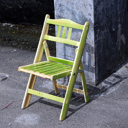 Bamboo Folding Chair (Set of 2)
