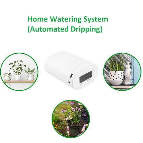Automatic Drip Irrigation Kit (Self Watering System - Houseplants)