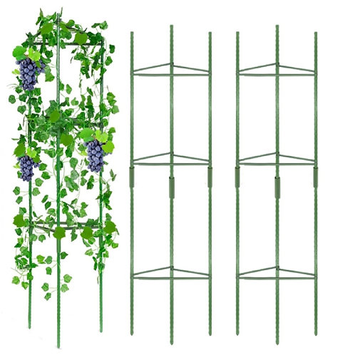 3 Tower Tomato Cages for Garden