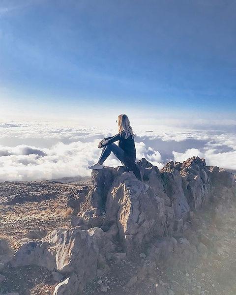 Floating on cloud nine!!☁️ Flashback to