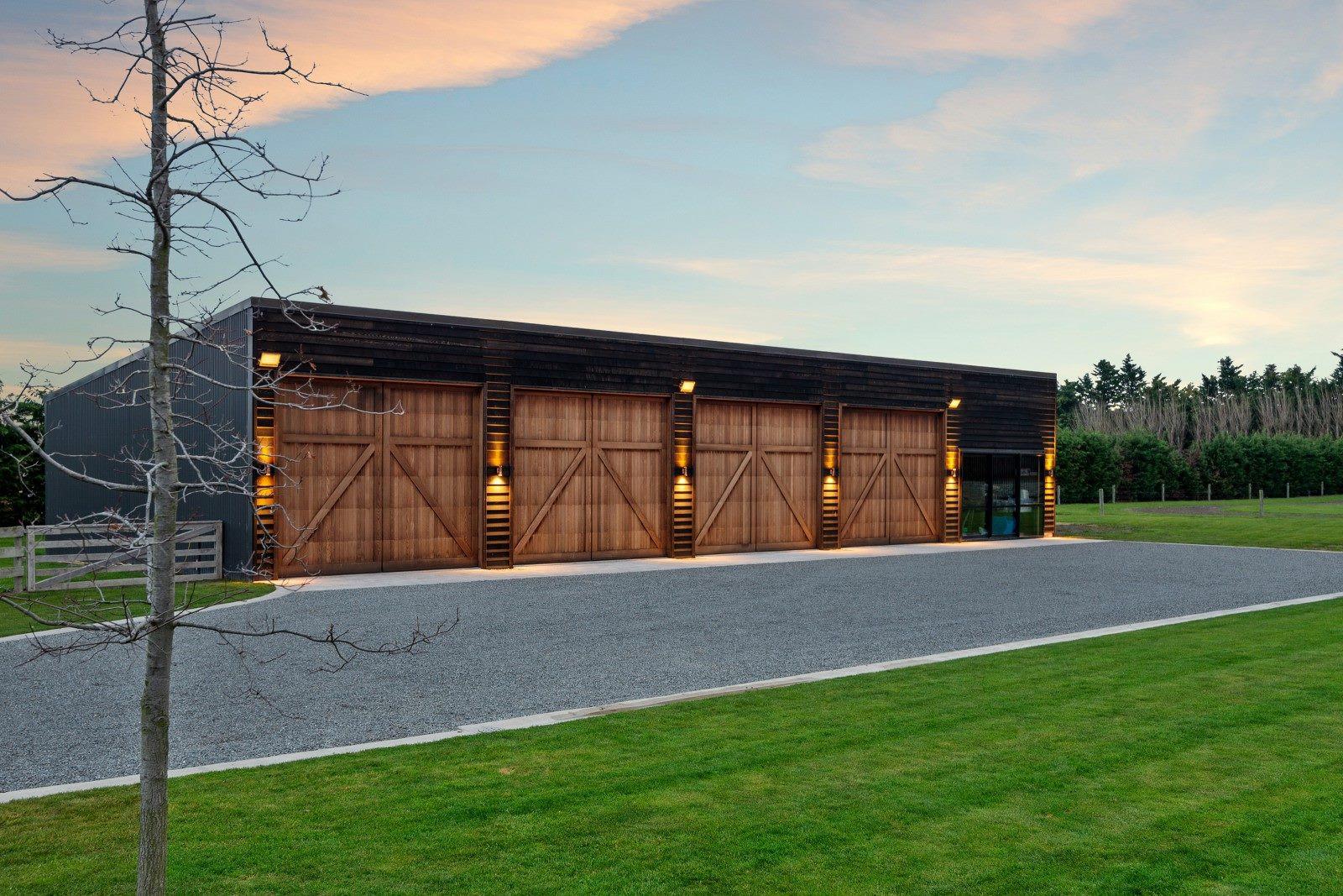 Cedar Barn Doors