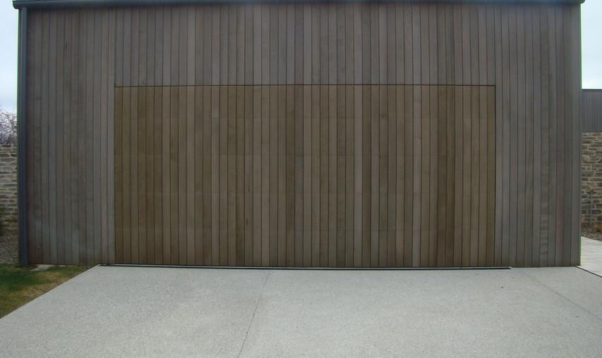 Flush Mount Garage Door