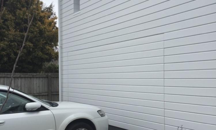 Flush Mounted Door