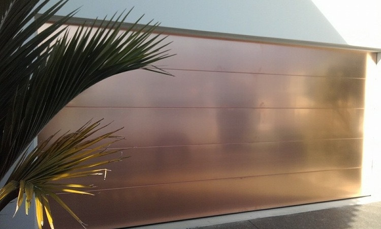 Designer Copper Door