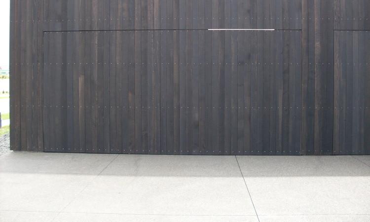 Flush Mounted Garage Door
