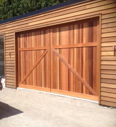 Cedar Barn Style Door