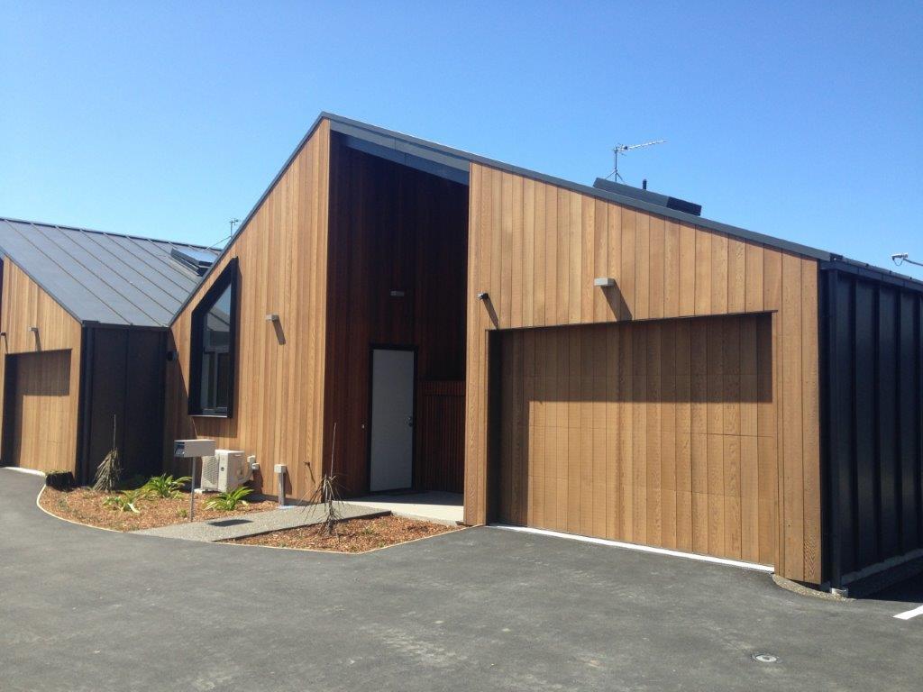 Vertical Cedar Door