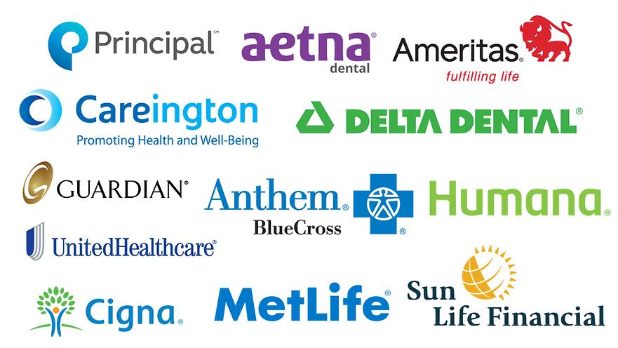 Dental Insurances we accepted at Healthy Dental Center in Des Plaines general invisalign dentist: Blue cross blue shield, guardian, cigna, delta dental, humana, metlife, aetna, sun life financial, GEHA, BCBS FEP