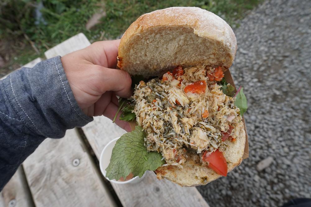 Beach food - freshwater west