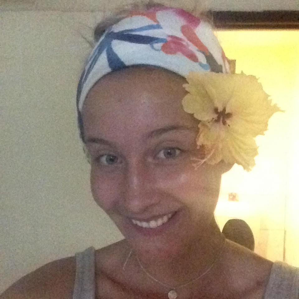Travel blog - Fiji flowers