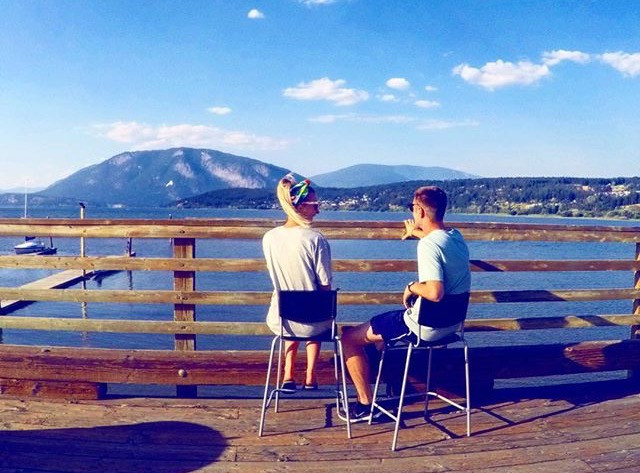Travel blog - Salmon Arm Canada
