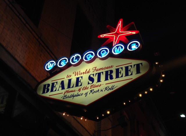 Travel blog America - Beale Street