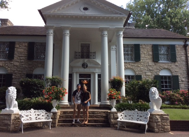 Travel blog America - Graceland