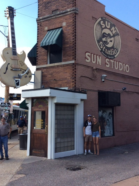 Travel blog America - sun studios