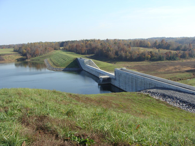 Deep Creek Watershed Dam