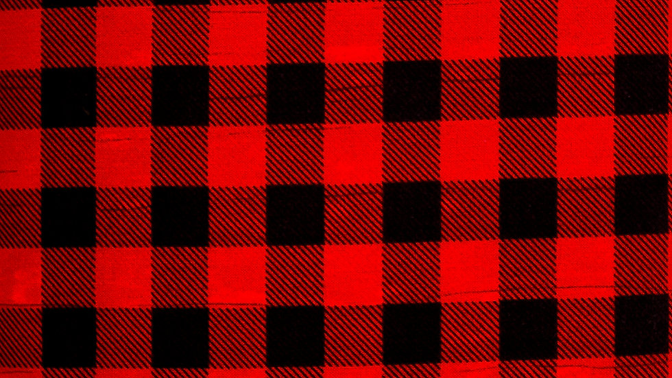 Red Buffalo Plaid by Wilmington Prints