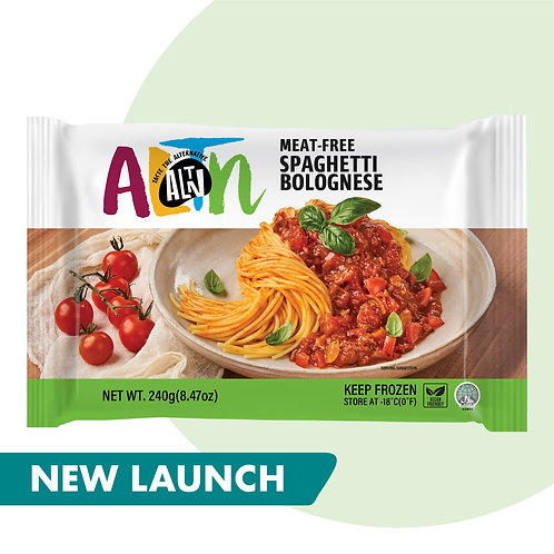 [Coming Soon] ALTN Meat-Free Spaghetti Bolognese