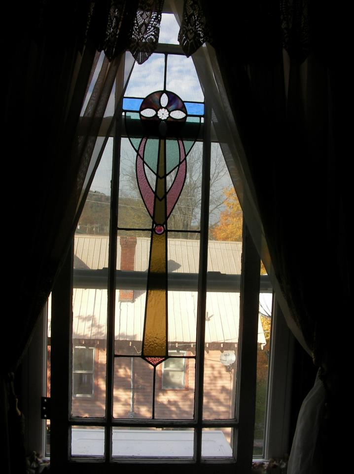 Honeymoon Suite Stained Glass