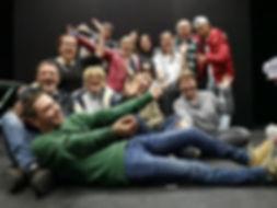 Atelier Estime de soi et confiance en soi. Théâtre de la Renaissance de Seraing. Un groupe d'Alternatives formations de wandre. Animé par David Boos et Valérie Kennis