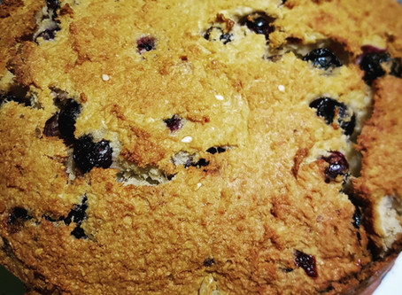 Blueberry, Banana and Yogurt Bread